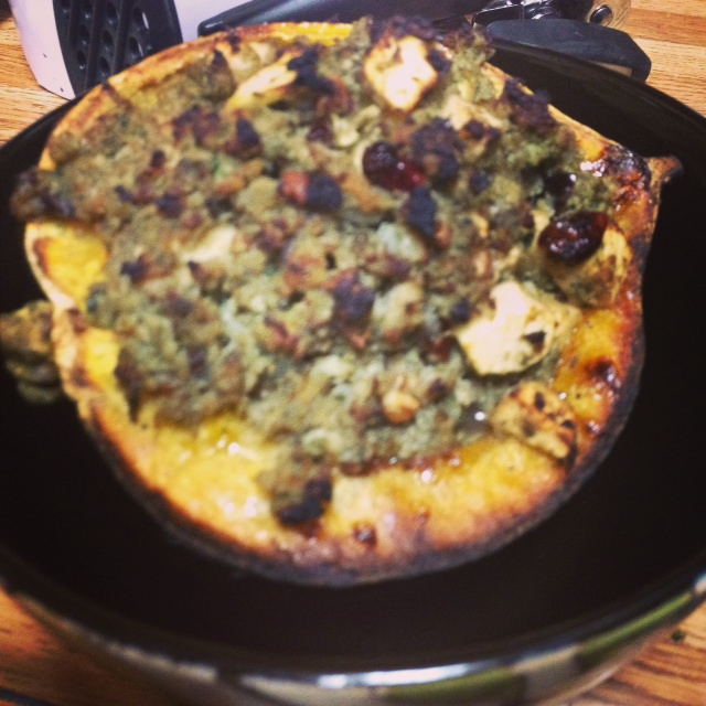 Paleo Autumn Stuffed Acorn Squash (1/3)